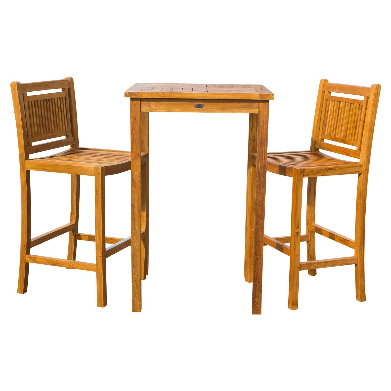Chic Teak Maldives Bistro Set