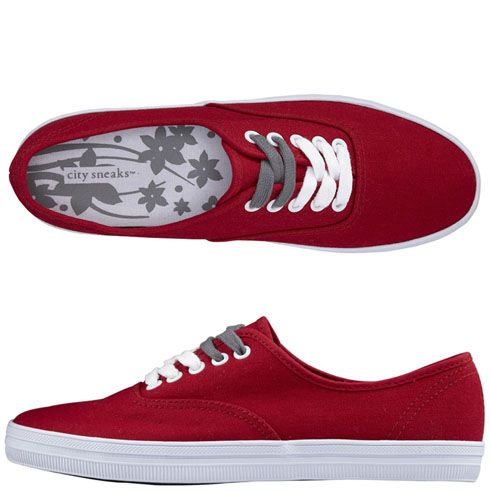 13a07d975 womens city sneaks canvas sneaker in RED  14.99   payless size 9.5 ...