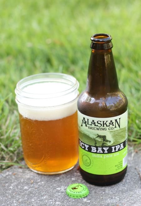 Alaskan Brewing Co. Icy Bay IPA. 6.2%. Milder hops with light golden tone. Floral with a clean non-bitter end.