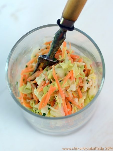 schneller coleslaw lukull 02 salat pinterest salat krautsalat und lecker. Black Bedroom Furniture Sets. Home Design Ideas