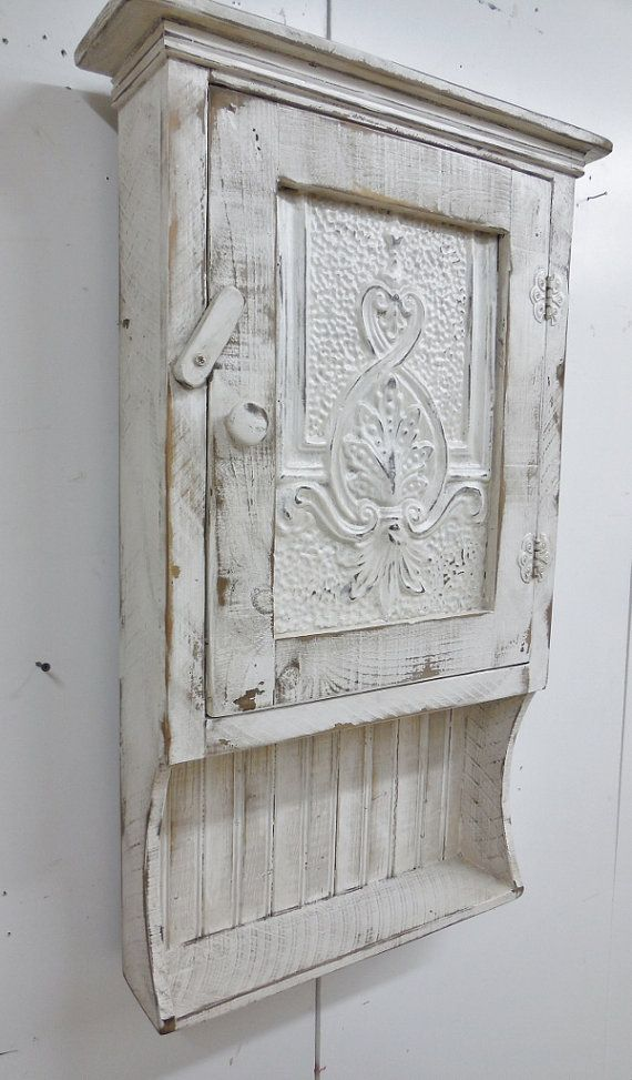 Medicine Cabinet Primitive Wall