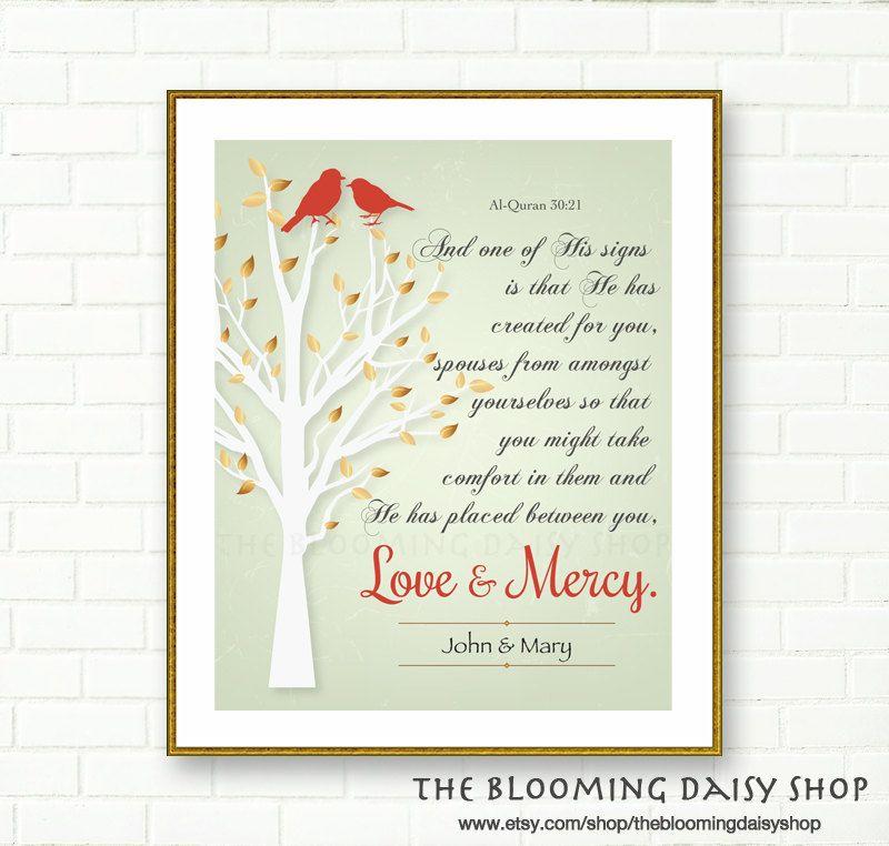 Wedding Prints Islamic Print Card Nikah Dua