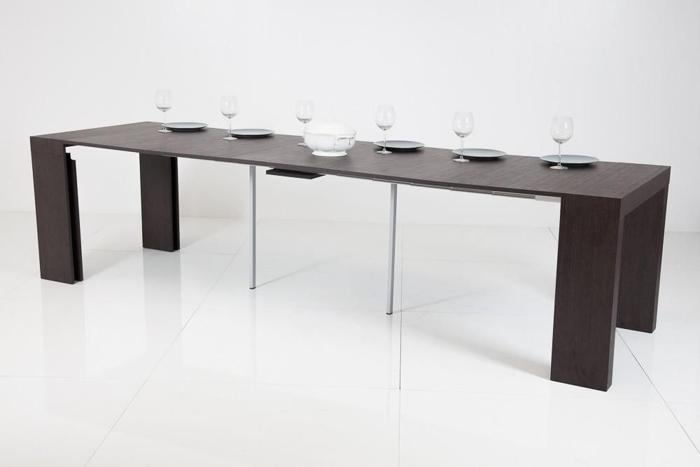 Tavolo Trasformabile ~ Ideapiu consolle realizzata in pannelli di nobilitato tavolo
