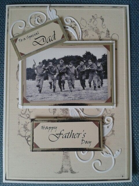 Father's Day.   Made this for my Dad