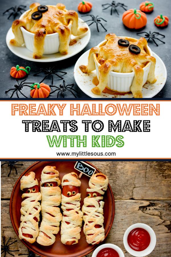 10 Freaky, Fun Halloween Treats to Make With Kids