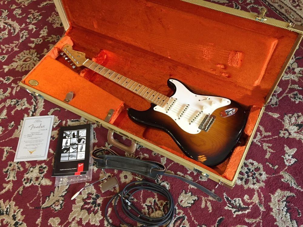 1998 Fender 1950's Relic Strat Cunetto Cruz era Custom Shop Stratocaster w/ COA in Electric   eBay