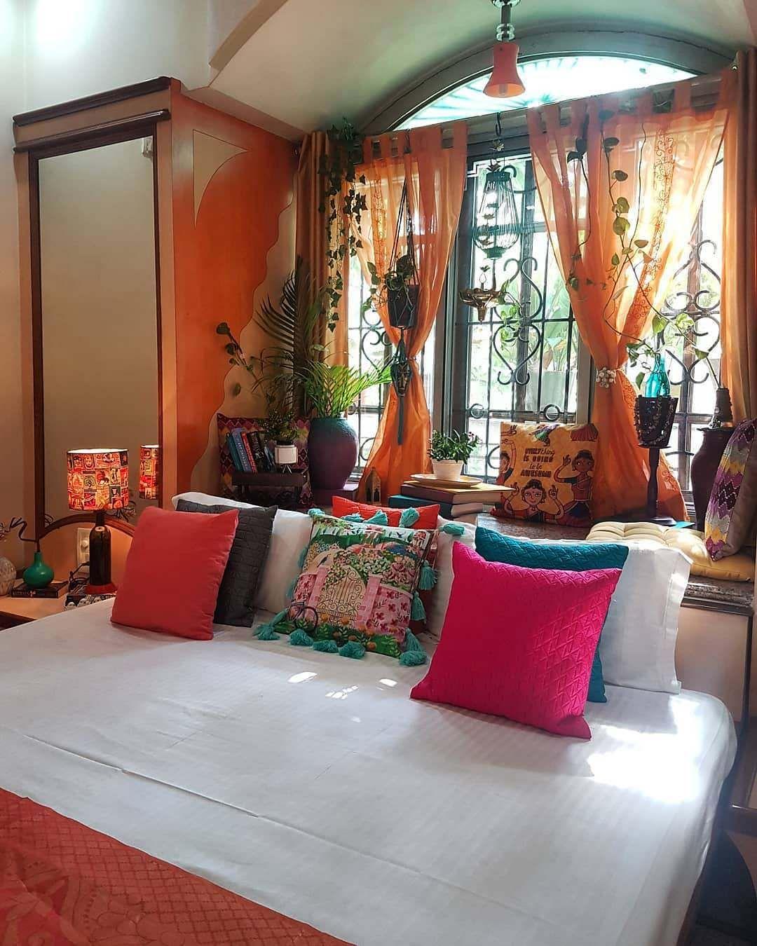 Home Design Ideas India: Bohemian Living Room Decor