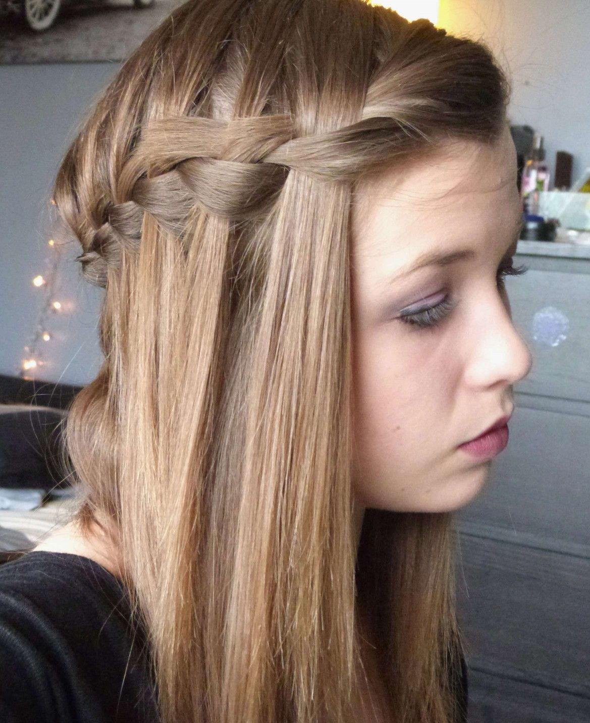 Coiffure Noel Superbe Frais Coiffure Cheveux Mi Long Tresse Braids For Long Hair Hairstyle Cool Hairstyles