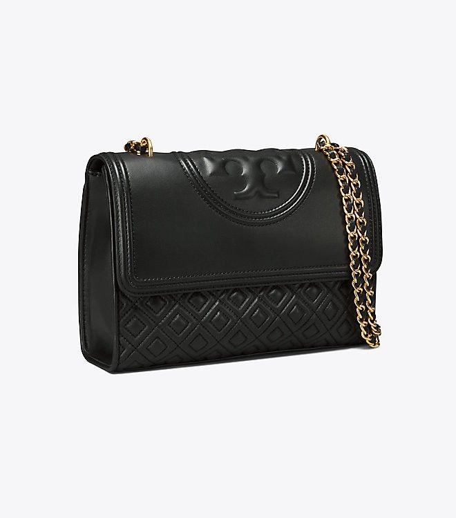 4216ab1594c2b Tory Burch Fleming Convertible Shoulder Bag - Imperial Garnet ...