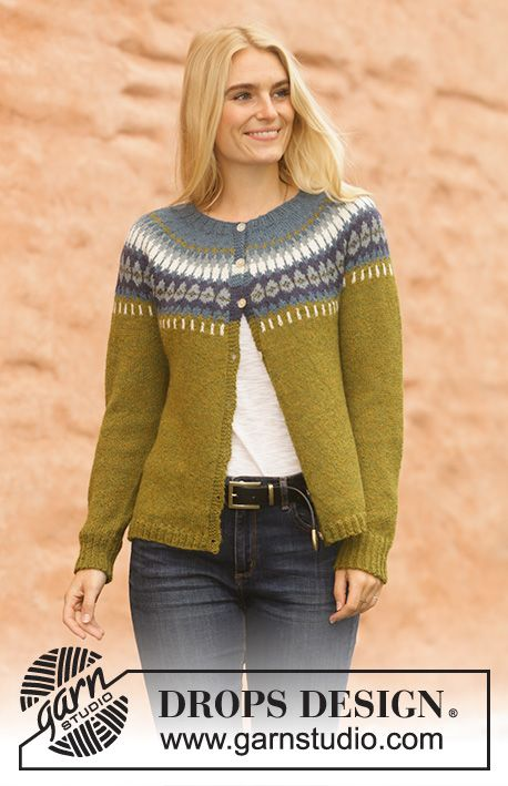Heim Jacket / DROPS 207-2 - Free knitting patterns by DROPS Design