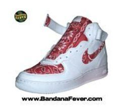 Nike Air Force 1 07 Mid Top White Sneakers Custom Hand Painted