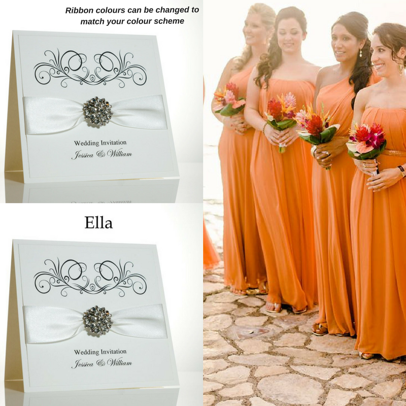 Burnt Orange Wedding Colour Scheme. Vintage Burnt Orange