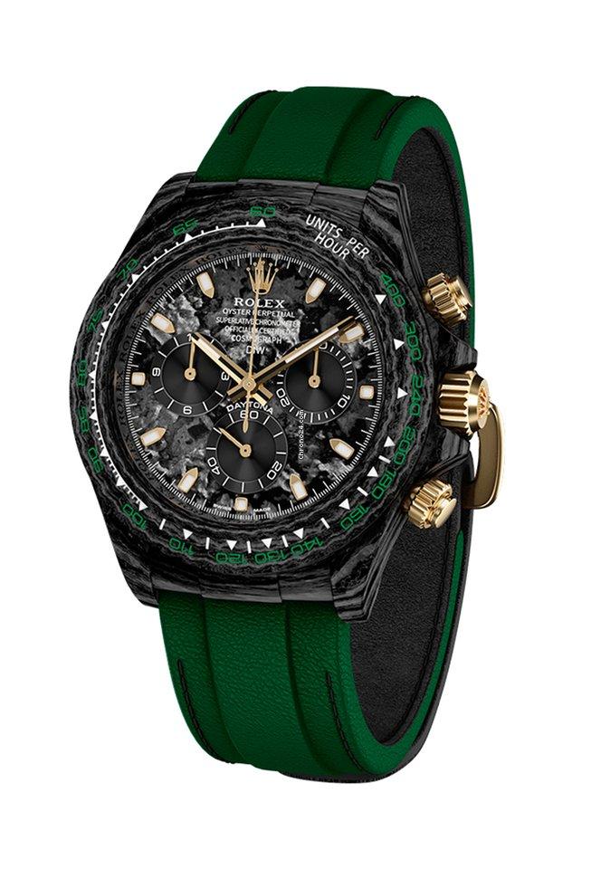 Rolex Daytona Carbon Emerald #rolexdaytona