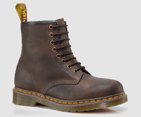 Dr Martens 1460 8 Eye Boot Bark Grizzly Men Shoes Ankle Bootsdoc martens greasydr martens shoes journeysdesigner fashion