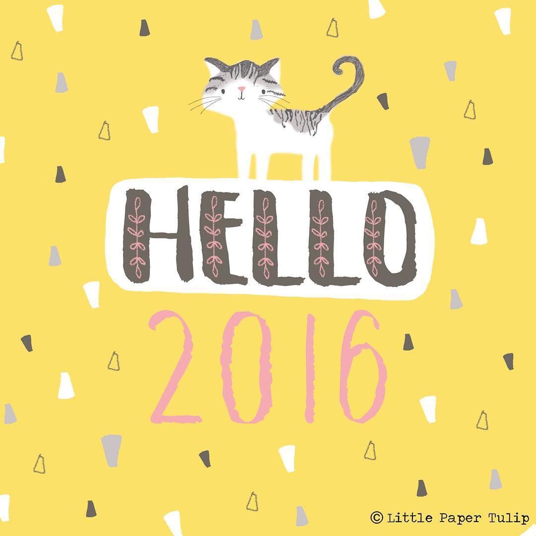 Happy New Year folks! #2016 #hello2016 #newyear #illustration #character #characterdesign #cat #colour #catillustration #ilovecats #crazycatlady #cats #graphicdesign #quote #quotes #instaquote #design #pattern #designer #digital #art #drawing #illustratorsoninstagram #illustratorsofinstagram #nofilter #draw #myartwork #print #prints #illustrator