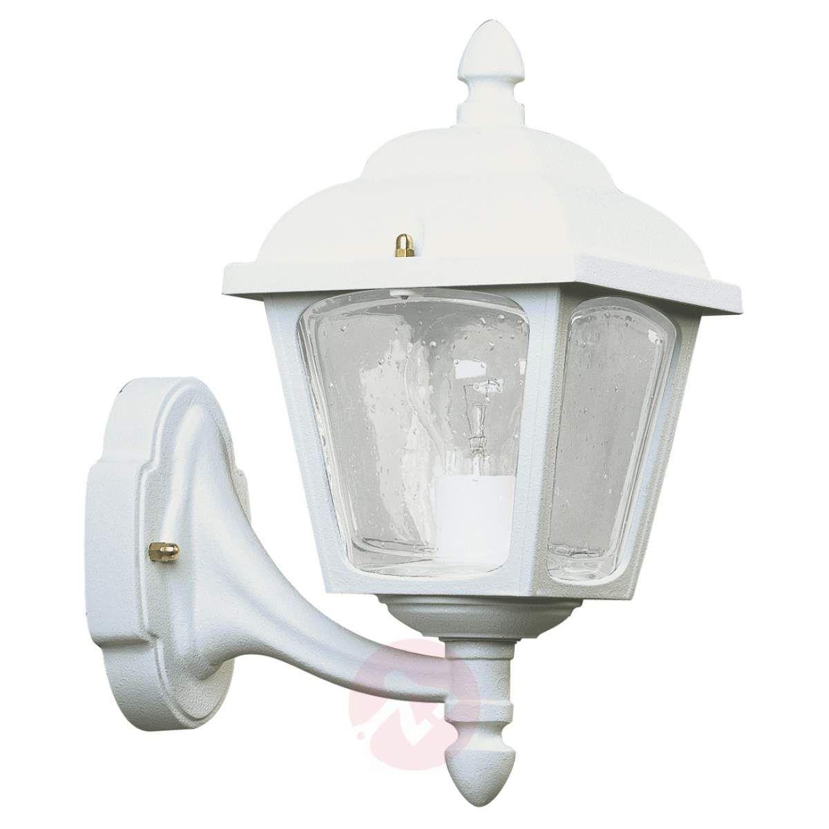 Zewnętrzna Lampa ścienna Landhaus 719 Biała Lampy Wiszące