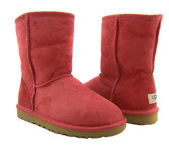 601163464f48a0 Tomato Red Classic Short UGG Boots!