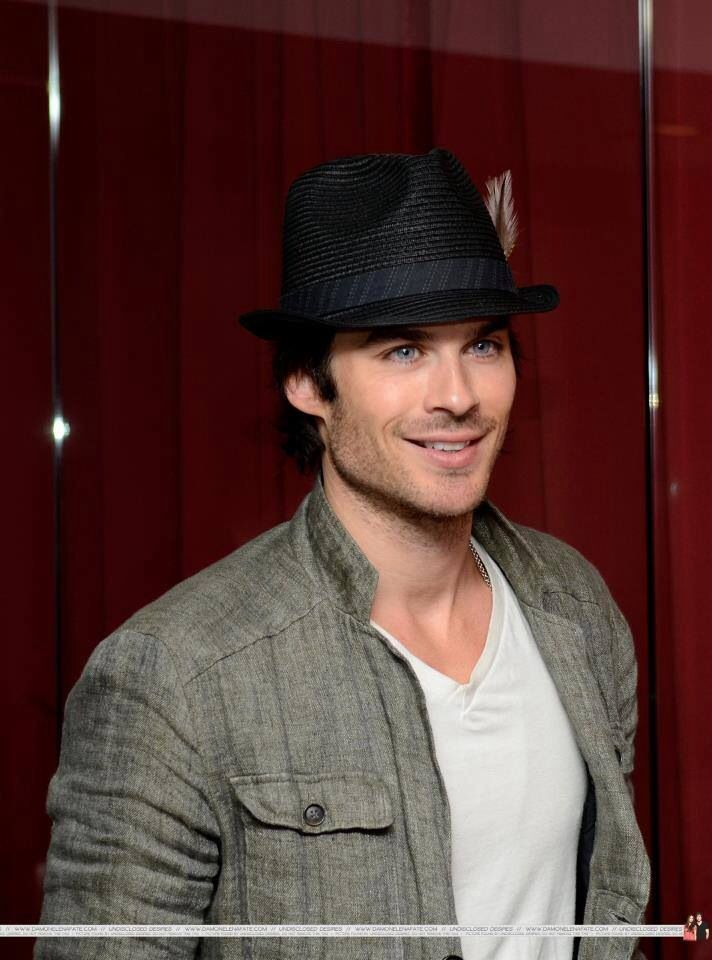 Ian Somerhalder...my my my. I don't think there are the right words in any dictionary that could do him justice.