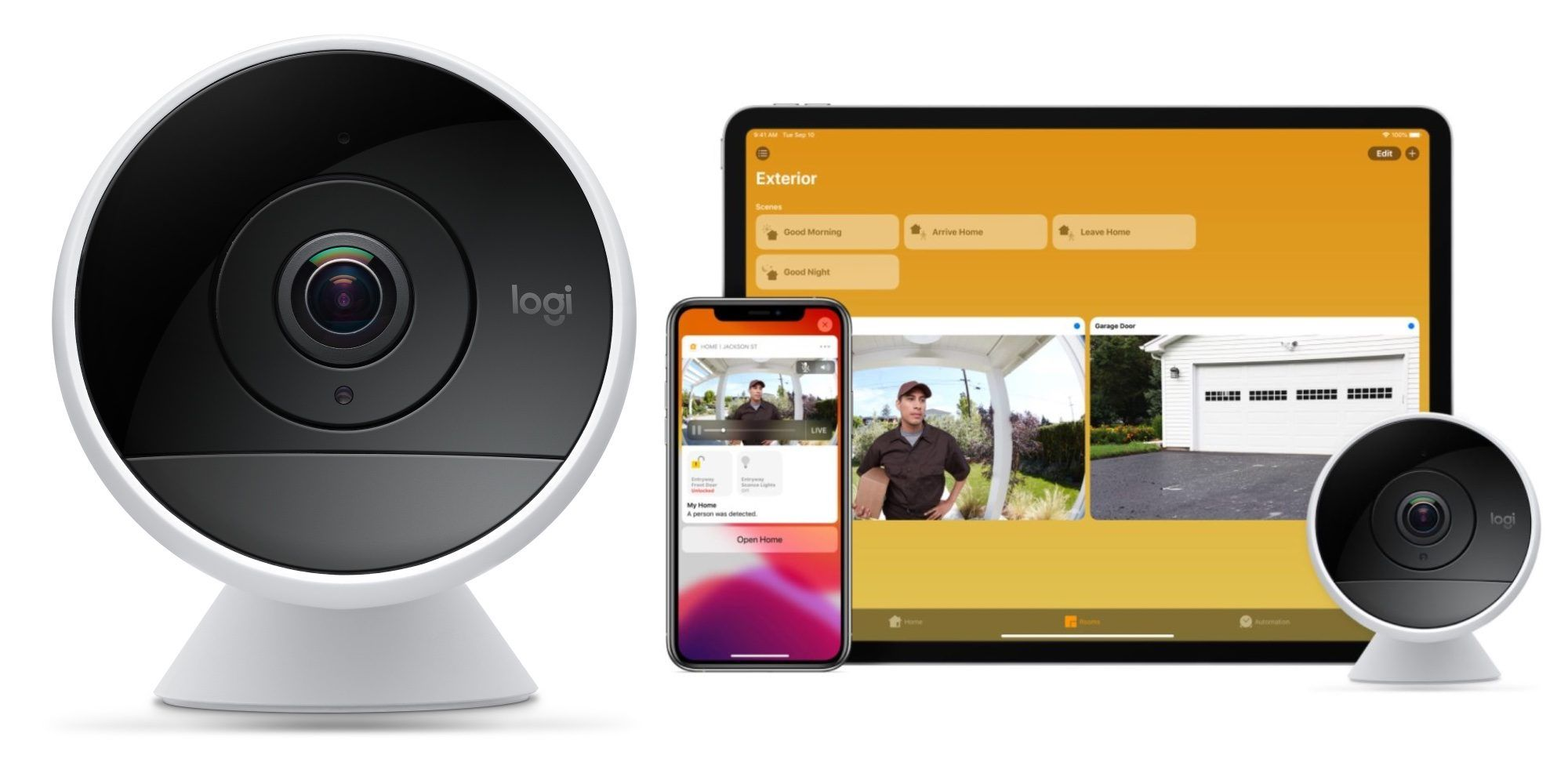 Logitech circle 2 works with apples new homekit secure