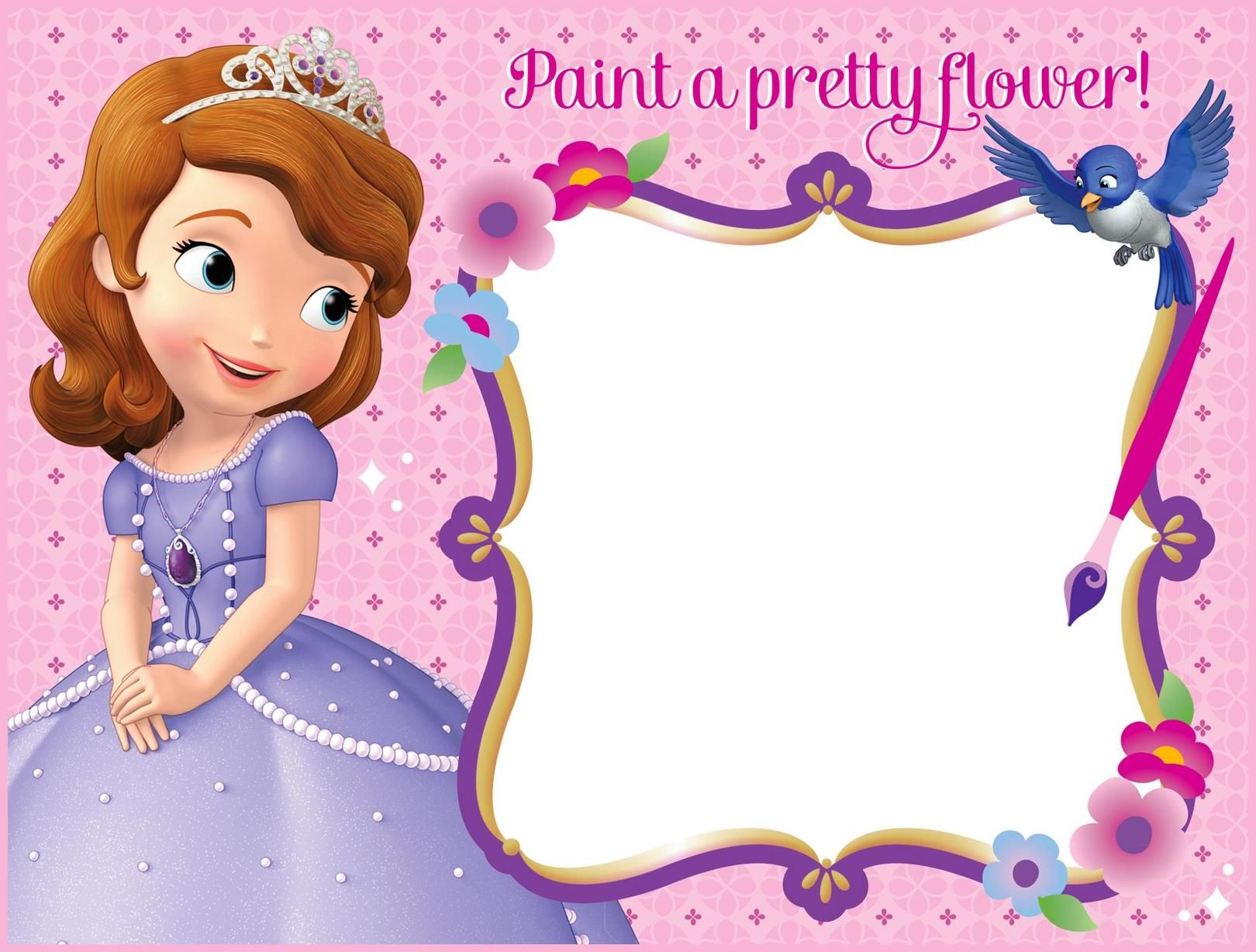 Sofia The First Picture Prop Sofia The First Picture Frame
