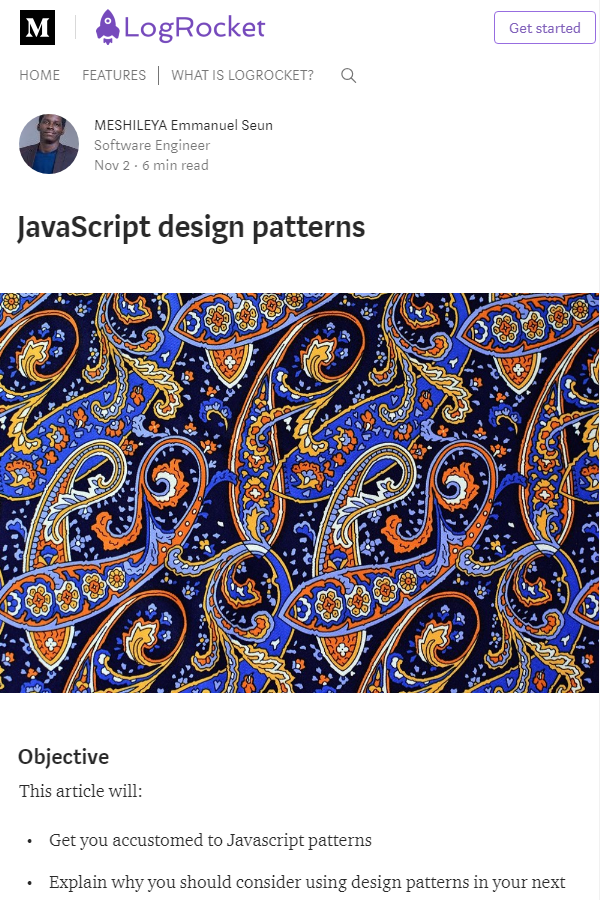 Learn About The Key Design Patterns In JavaScript JavaScript Classy Javascript Design Patterns