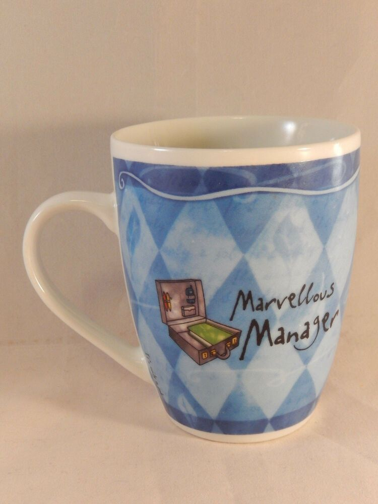 Details about marvellous manager mug fine porcelain