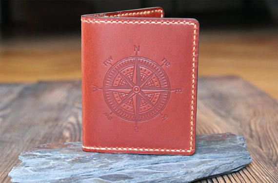 Wallet Leather wallet Boyfriend gift Graduation gift Husband