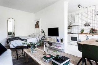 40 Amazing Small Apartment Studio Decoration Ideas