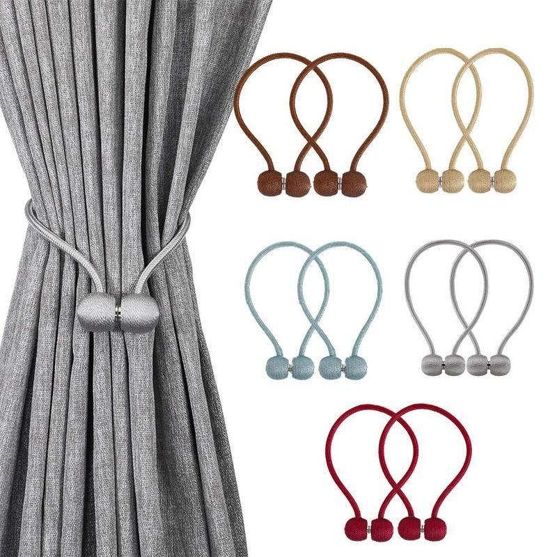 Elegant Magnetic Curtain Buckle 2 Pcs Magnetic Curtain Curtain
