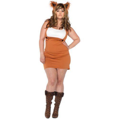 Adult Foxy Lady Costume - Plus Size ☠ Everything Costume - ladies halloween costume ideas
