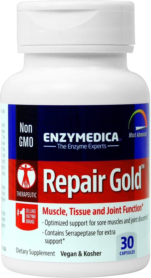Enzymedica - Repair Gold, Muscle, Tissue | Joint & Muscle