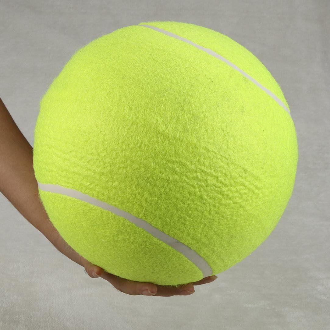 Vmree Pet Bite Toys Pet 24cm Giant Tennis Ball Chew Toy Big