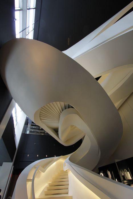 Armani 5th Avenue store in New York City, designed by Massimiliano & Doriana Fuksas Architects