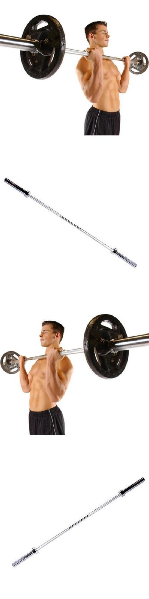 Barbells And Attachments 137864 Barbell 2 Inch Olympic Weight Bar 5 Ft Solid