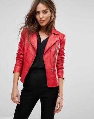 Haus & Garten Ordentlich 2018 Frühling Herbst Frauen Pu Leder Jacken Dame Slim Fit Motorrad Reißverschluss Mantel Wein Rot Blau Rosa Kosten Dame Mode Mit Gürtel