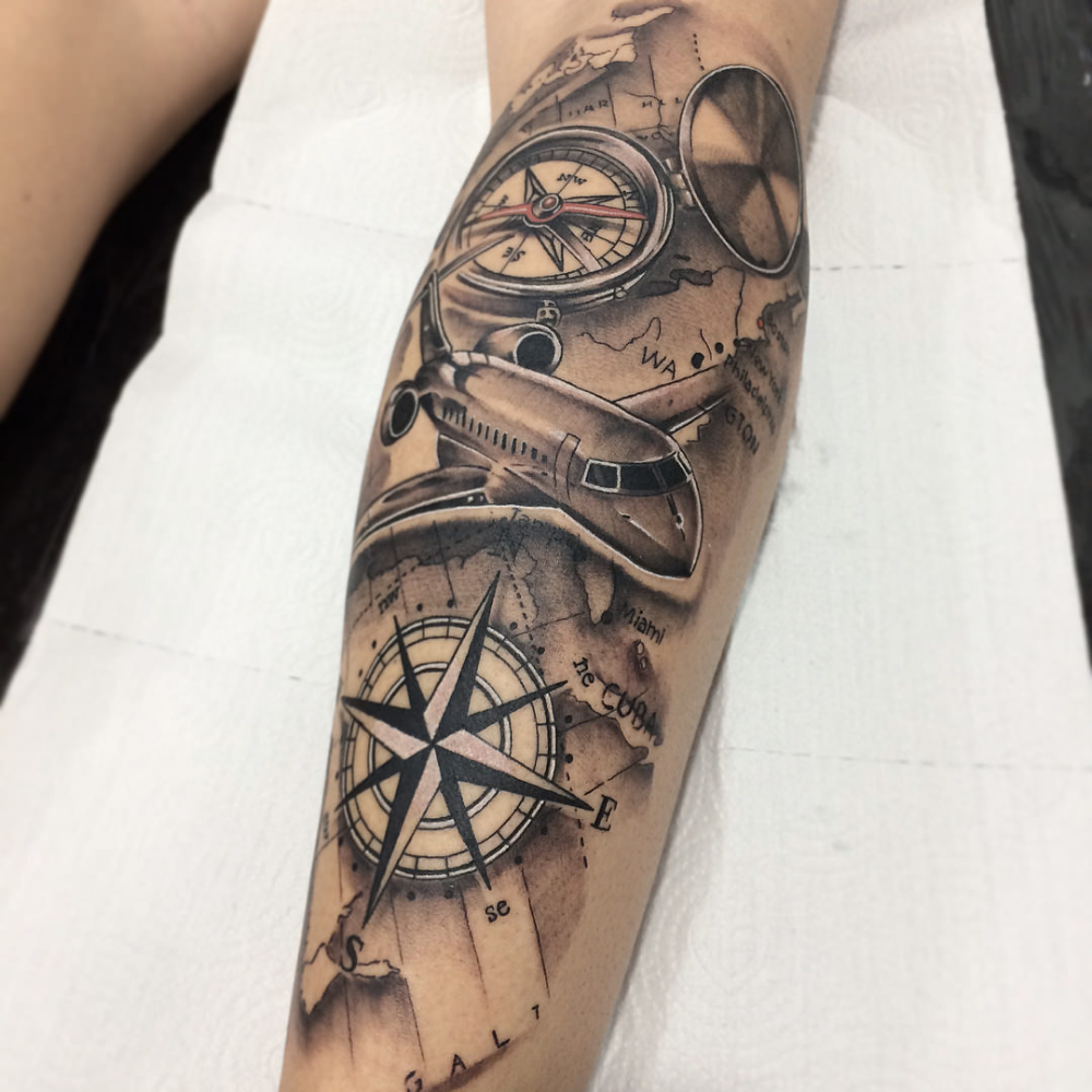 Propeller Tattoo Google Search Tattoos For Guys Compass