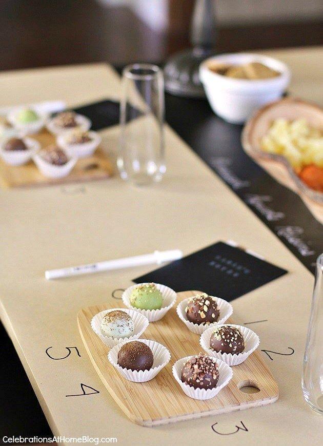 Entertaining : Ladies Night Chocolate Tasting Party | Ladies night ...