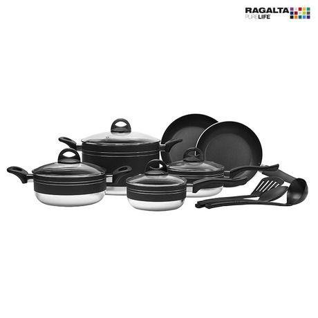 13-Piece Set: Ragalta PureLife Nonstick Aluminum Cookware at 60% Savings off Retail!