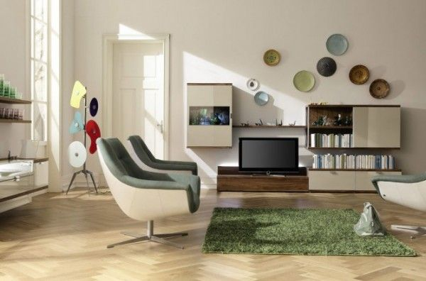 10 Living Rooms That Sport Style