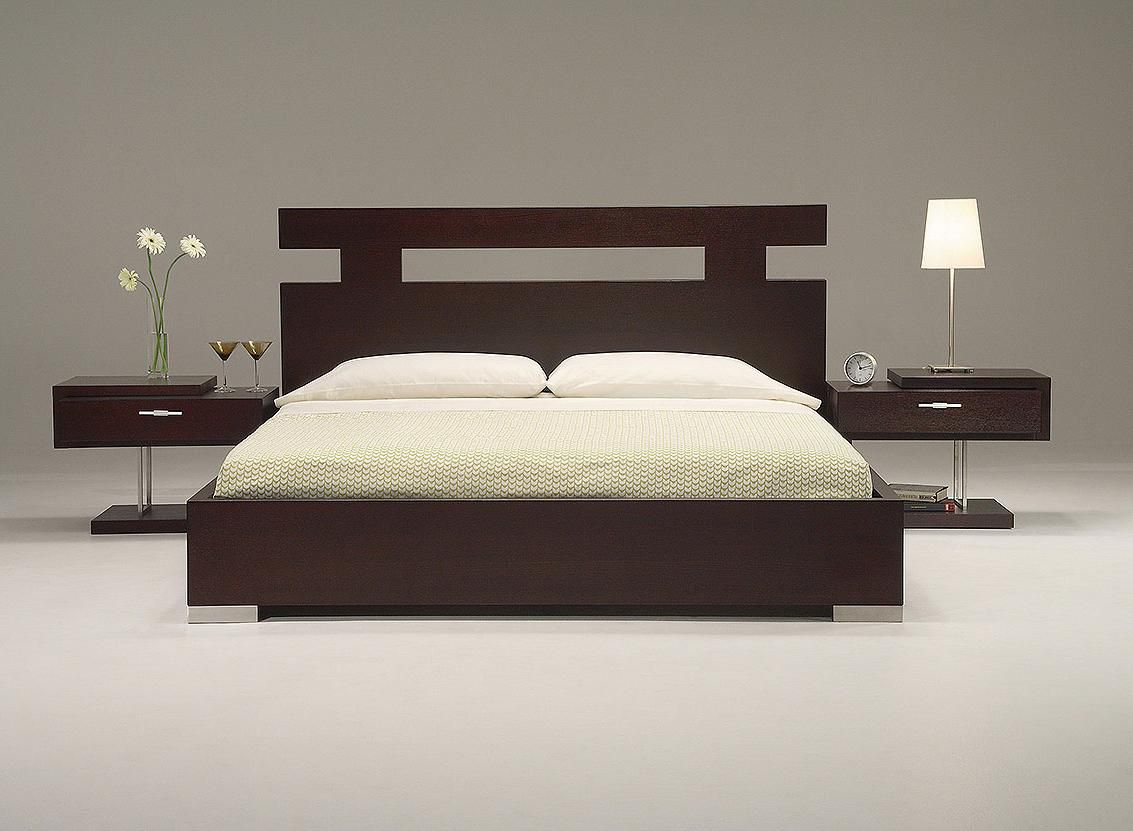 Contemporary Headboard Ideas for your Modern Bedroom   Bedroom     contemporary modern wood headboard