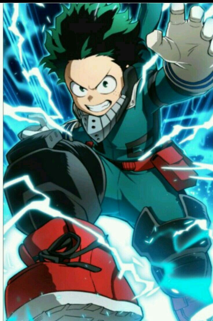 Deku Full Cowl Hero Wallpaper Anime Characters Anime