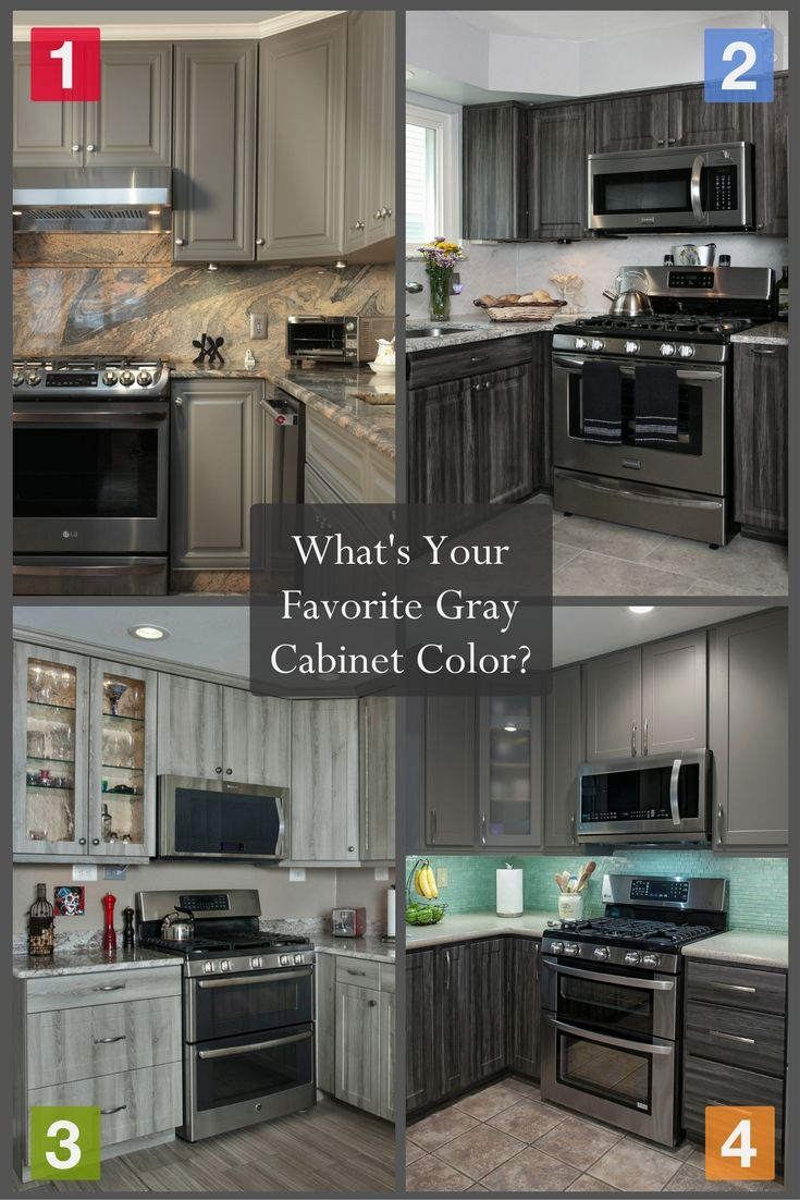 Delicieux Gray Cabinets Are So Cool Right Now! This Trendy Cabinet Color Has Taken  The Kitchen Design World By Storm (pun Intended!) 😉 Which Of These Gray  Cabinet ...