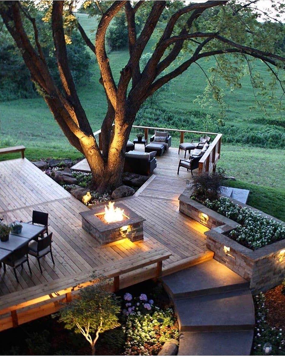 Kurlbaum Residence Designed By Kansascityconcrete Located In Kansas Usa Vi Backyard Landscaping Backyard Backyard Design Backyard garden in usa