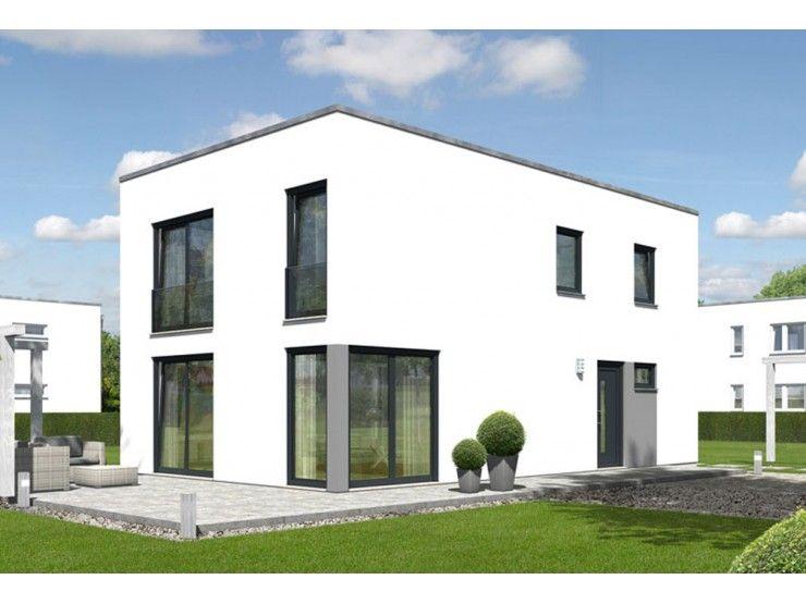 Musterhaus modern flachdach  Doppelhaus City 136 - #Doppelhaus von Town & Country Haus ...