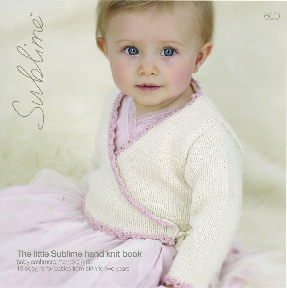 The Little Sublime Hand Knitting Book - 600 | Baby sweaters, Books ...