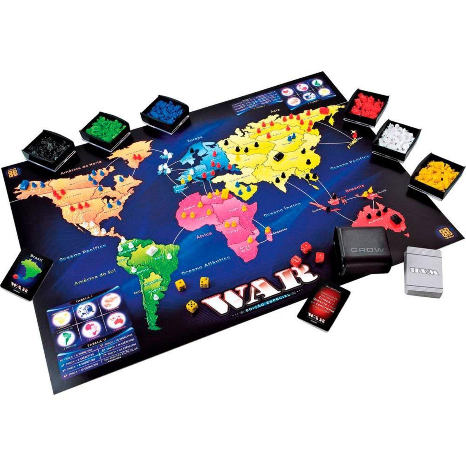 Jogo War Grow Em 2021 Jogos De Estrategia Jogos Jogos De Tabuleiro