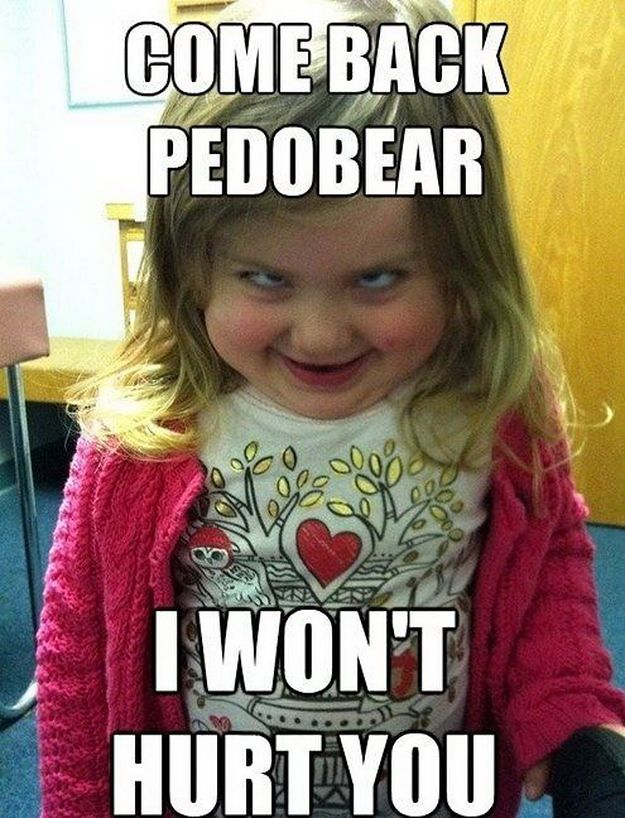 8fe0fa4d53e2fb0a665ed57961b52bcc scary kid!! funny pinterest scary kids, memes and funny memes