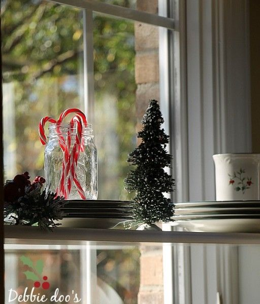 Easy Christmas decorating ideas for the kitchen