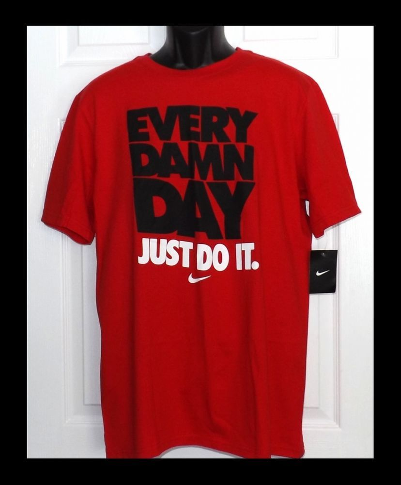 nike just do it t shirt ebay