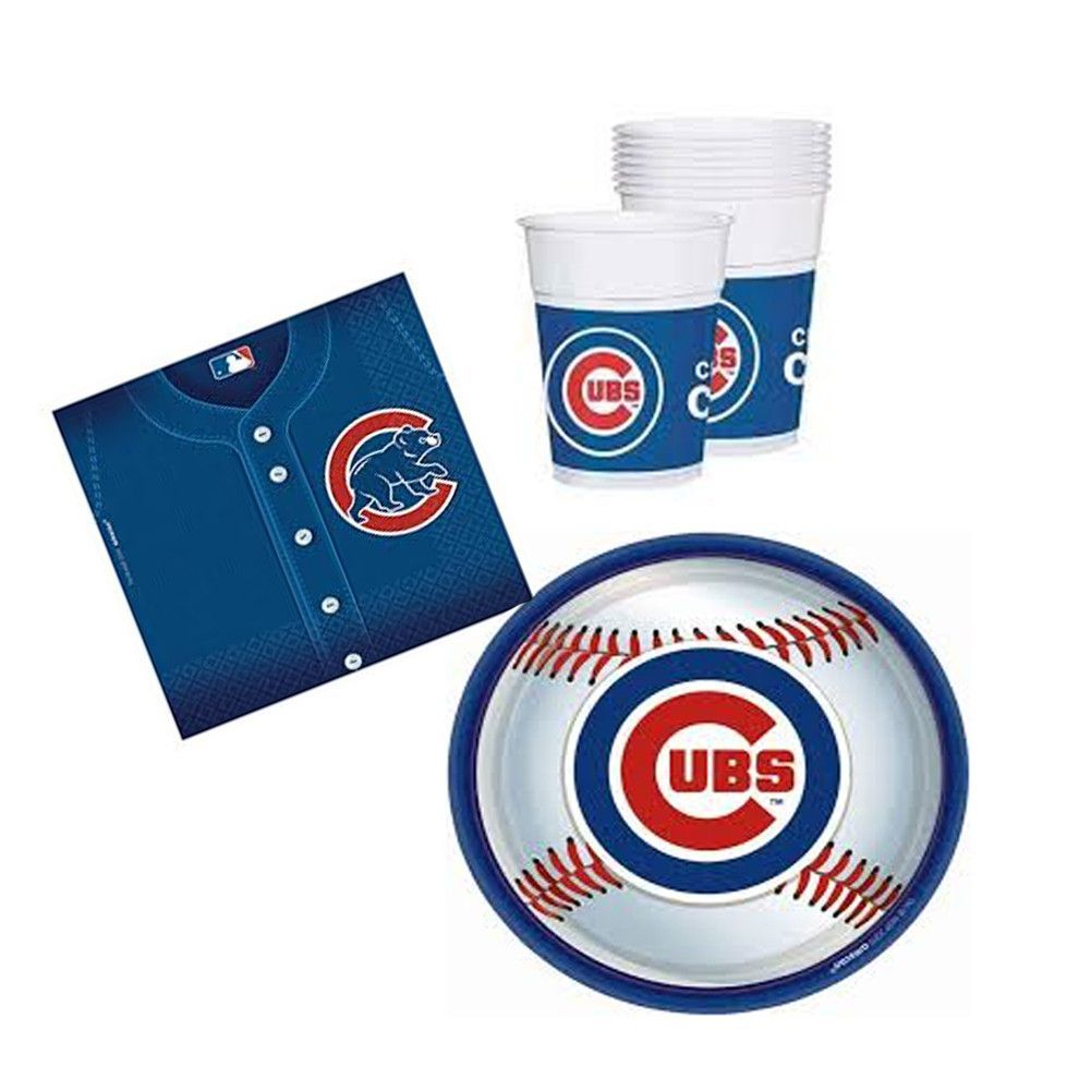 Party Linens Chicago Il: Chicago Cubs Party Tableware